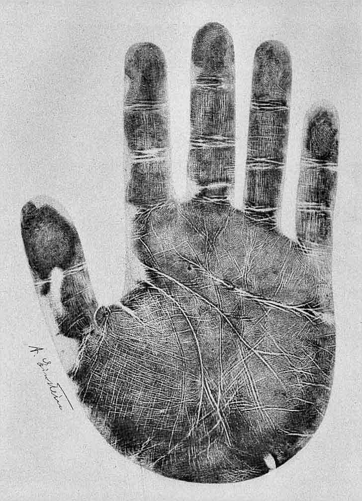 Einstein, What Was He Thinking? The Hands Do Tell…   Patti