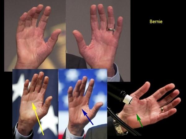 Bernie Sanders - Hands