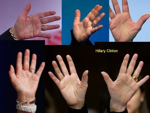 Hillary Clinton - Hands