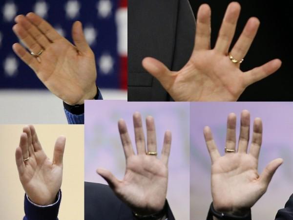 Ted Cruz - Hands